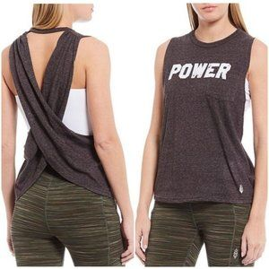 NWT Free People Movement Tank Top Blouse Shirt L